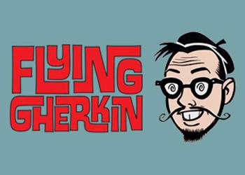 Flying Gherkin
